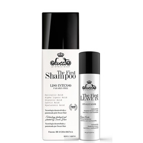 Sweet Hair The First Shampo Que Alisa 500ml + Leave-in 150g