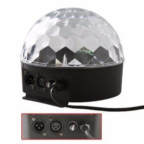 Bola Maluca Led Rgb Holográfico 18w Dmx 8ch Ball Light