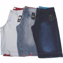 Kit Bermuda Jeans Masculino Lote 3 Unidades Preço De Atacado