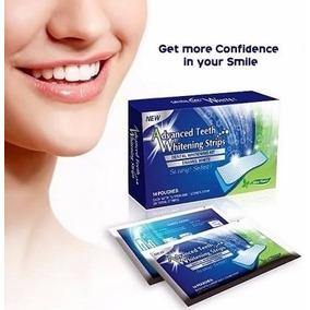 Branqueador Clareador Dental Fitas Clareamento Dentes Tiras