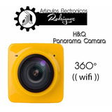 H&q Panorama Cubo Camera 360° + Wifi + Envio Gratis 1280 Fps