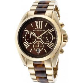 336df44232843 Relógio Marrom E Dourado Michael Kors - Relógio Masculino no Mercado ...