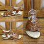 Sandalia De Cuero Color Suela - Calzados La Fabrica