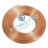 Tuberia De Cobre Flexible 1/4 Rollo 15.24mts