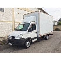 Iveco Daily 55c16 Chassi 2010 Com Bau