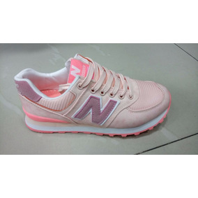 tenis new balance mujer rosas