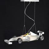 Lustre Infantil Formula 1 Car Carro Quarto Criança Menino