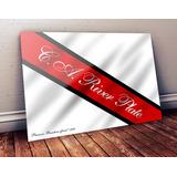 Banderín De River Plate. Cuadro La Primera Bandera Del Club