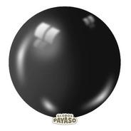 Bolsa Con 3 Globos Color Negro Tamaño 24 Pulgadas (61 Cms)