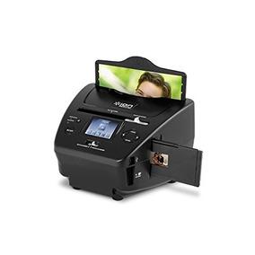Escáner D/foto, Diapositiva Y Película Ion Pics C/tarjeta Sd