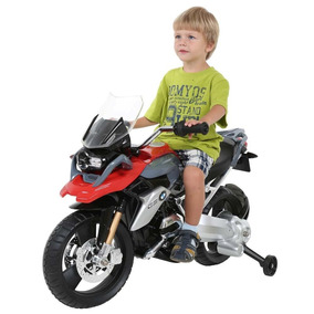 Mini Moto Scooter Elétrica Infantil Bmw Gs 12v - Bandeirante