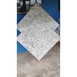 Piso De Granito Branco São Francisco 55x55x1.5 Cm