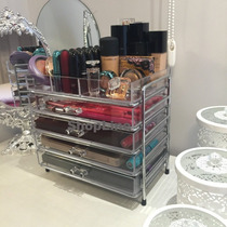 Gaveteiro Acrilico Porta Maquiagem Joias Caixa Organizadora
