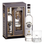 Vodka Beluga Gift Set Con Vaso 700ml Super Premium