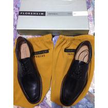 Zapatos De Cuero Negro Florsheim Imperial.