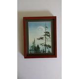 Luna, Acuarela De Los Kwakiutl, Norte Canada Representación