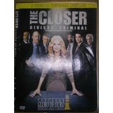 Dvd The Closer Divisao Criminal 1 Temporada Disc 1,2,3,4