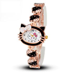 Reloj Hello Kitty Diseño Original Colores Envio Gratis