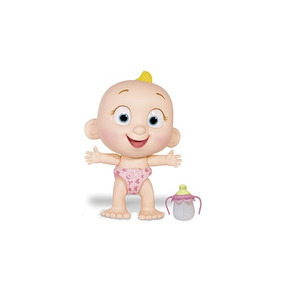 Tiny Tots Boneco Interativo Com Mamadeira Rosa - 8801