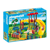 Playmobil City Life Set Zona De Juegos Infantil Original