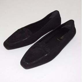 Zapatos Prada Originales (mocasines Para Mujer) Negros