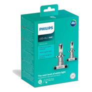 Par Lâmpada Philips Ultinon Led-hl H4 6200k +160%