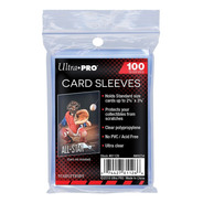 Protectores Ultra Pro X100 Unidades Card Sleeves Scarletkids