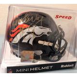 Mini Capacete Denver Broncos Autografado 2 Lendas