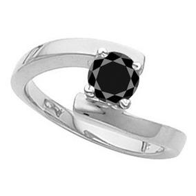 Anillo Con Diamante Negro Certificado 2.51qt #7