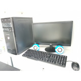 Computador Completo I3+monitor+mouse+teclado+caixa De Som