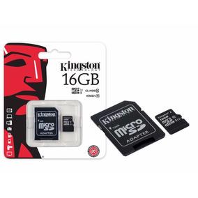 Cartão Micro Sdhc Adaptador 16gb Classe 10 Kingston Original