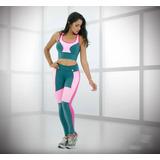 Conjunto Deportivo Sport Mujer Suplex Fitness Resistente