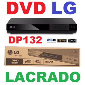 Dvd Lg Dp132 C/ Usb Reproduz Pen-drive Hd Externo Qq Tv Cx