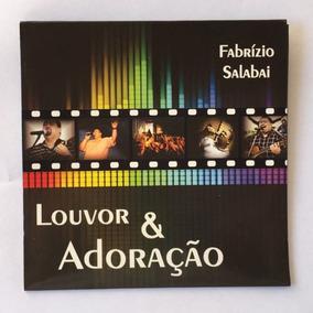 Cd Ao Vivo Mp3 - Fabrízio Salabai (50 Unidades)