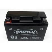 Bateria Moto Yt9b-4 Bronco Gel Raptor 700 Motoscba