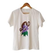 Camiseta Mãe Terra [mod Feminino] 100% Algodão Orgânico