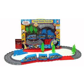 Tren Thomas A Pilas Circuito Grande Y Flexible C/accesorios!