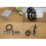 Kit Para Bicicleta Elétrica 500w 24v