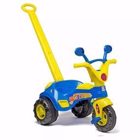 Triciclo Motoca Velotrol Infantil C/ Som E Haste Cotiplás