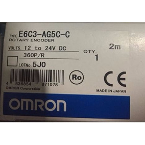 Enconder Rotativo Mod. E6c3-ag5c-c Marca Omron 360 P/r