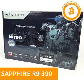 Tarjeta Sapphire R9 390.. Maxima Potencia Eth, Zcash, Etc..