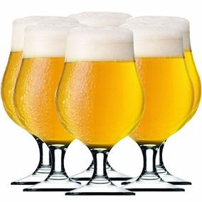 Taça Cerveja - Copo Cerveja - Bélgica 400 Ml C/ 6 Unid