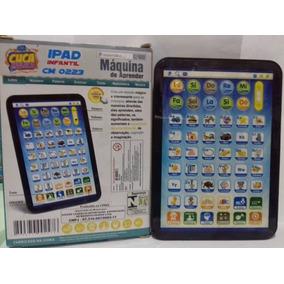 Ipad Infantil Brinquedo Interativo Maquina De Aprender