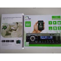 Auto Radio Bluetooth+ Suporte Veicular Para Encosto Truffi