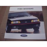 Folder Ford Mustang 88 1988 Gt Hardtop Svo Fastback V8 Cobra