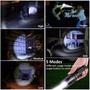 Lampara Tactica Shadowhawk X800 Estuche 5 Modos Caceria Pesk