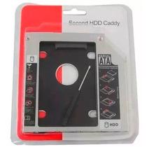 Adaptador Caddy Notebook Dvd Segundo Hd Ssd 2.5 Sata 9.5mm