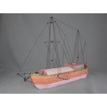 Barco Pesquero Holandés Siglo 18 - 19 (armar En Papel)