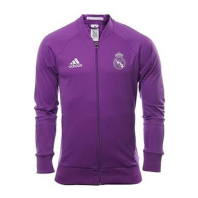 Chamarra Anthem adidas Real Madrid 100%original 2017 Morada