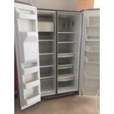 Refrigerador Y Congelador Ge, 2puertas, Dispensador De Agua